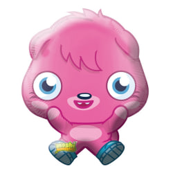 Amscan Moshi Monsters Poppet Supershape Balloon One Size Rosa /