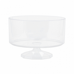Amscan Plast Trifle Container Small Klar