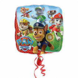 Amscan Square Paw Patrol Characters Foil Balloon One Size Flerfä