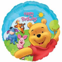 Anagram 18 tums Disney Winnie The Pooh Happy Birthday Circular F