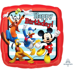 Anagram 18in Mickey And Friends Happy Birthday Foil Balloon One