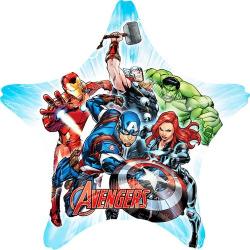 Anagram Avengers 29 tum Jumbo Star Foil Balloon One Size Flerfär