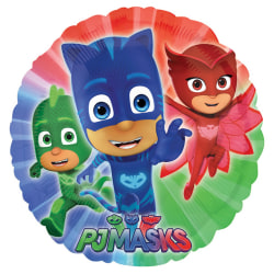 Anagram Disney Junior PJ Masker 18 tums cirkelfolie ballong 18 i