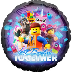 Anagram Lego Movie 2 Lets Build Together Round Foil Balloon