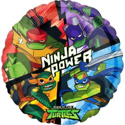 Anagram Rise Of The Teenage Mutant Ninja Turtles Round Folie Bal