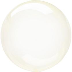 Anagram Sempertex Clearz Crystal Latex Balloon 18in Gul
