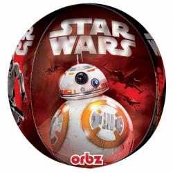 Anagram Star Wars avsnitt VII Supershape Orbz Round Balloon One