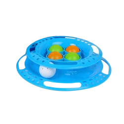 Animal Instincts Cat Play Ring One Size Blå