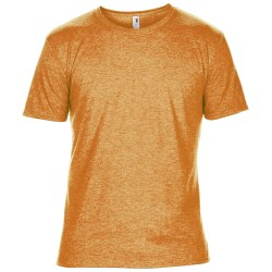 Anvil Herr T-shirt med kort ärm, kort ärm XS Heather Orange