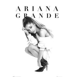 Ariana Grande Officiell affisch One Size Svart vit