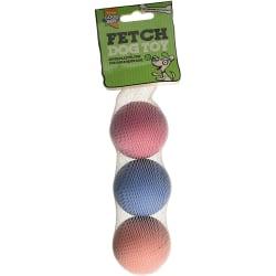 Armitage Good Boy Sponge Ball (paket med 3) One Size Flerfärgade