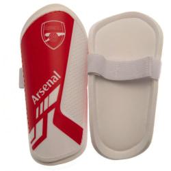 Arsenal FC Barnskydd för barn / barn 10-12 Years Röd vit