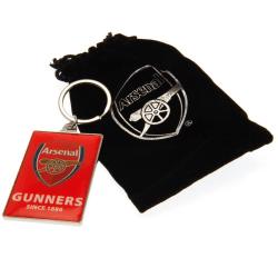 Arsenal FC Deluxe nyckelring One Size Röd svart