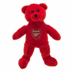 Arsenal FC Mini Bear Plush Toy 20cm Röd