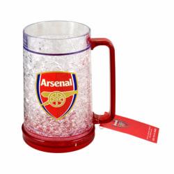 Arsenal FC Officiell fotboll Crest Design frysmugg One Size Klar