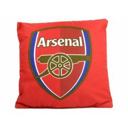 Arsenal FC Officiell fotbolls Crest Cushion One Size Flerfärgade