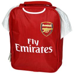 Arsenal FC Officiell Lunchväska för barn- och barnpaket One Size