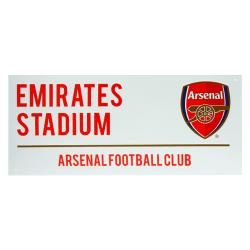 Arsenal FC Officiella Emirates Stadium Street Sign One Size Röd
