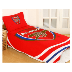 Arsenal FC Pulse Reversible Duvet And Pillow Case Set One Size R