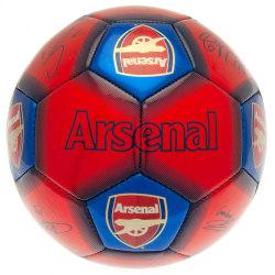 Arsenal FC Signaturfotboll One Size Röd blå