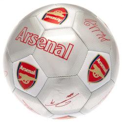 Arsenal FC Tryckta spelare Signaturer Signerad fotboll One Size