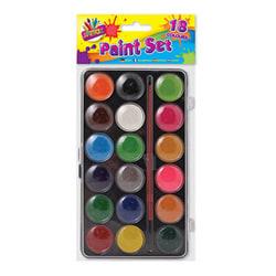 ARTBOX 18 färg färglåda med borste One Size Flerfärgade