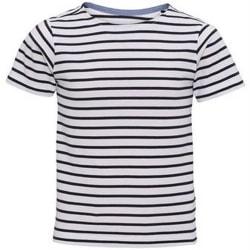 Asquith & Fox Barini / barn Mariniere Coastal kortärmad T-shirt