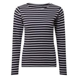 Asquith & Fox Dam / dam Mariniere Coastal Långärmad T-shirt M Na
