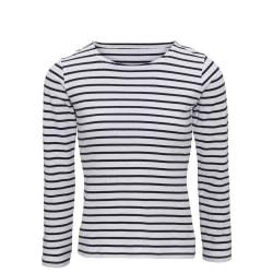 Asquith & Fox Dam / dam Mariniere Coastal Långärmad T-shirt L Vi