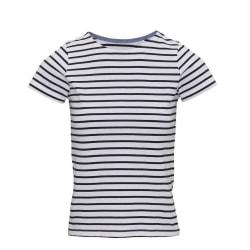 Asquith & Fox Dam / Mariniere Coastal T-shirt med kort ärm M Vit