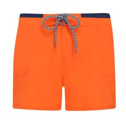 Asquith & Fox Dam / shorts för damer / damer S Orange / Navy