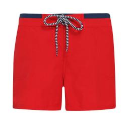 Asquith & Fox Dam / shorts för damer / damer L Red / Navy