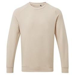 Asquith & Fox Organisk Crew Neck-tröja för herrar XXL Naturlig