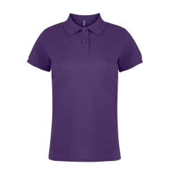 Asquith & Fox Poloskjorta med kortärmad, dam / dam M Lila