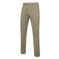 Asquith & Fox Slim Fit Cotton Chino byxor för män 2XLT Kaki