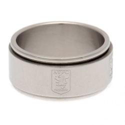 Aston Villa FC Herr Spinner Ring R Silver