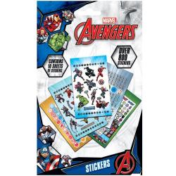 Avengers 800 styck klistermärkesuppsättning One Size Mång