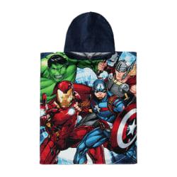Avengers Barn / barn karaktär Poncho One Size Flerfärgade