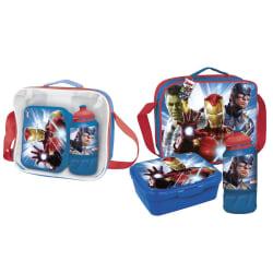Avengers Barn- / barnpaketuppsättning One Size Röd blå