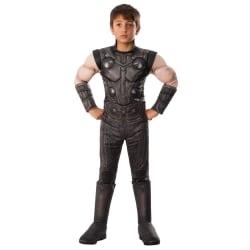 Avengers Pojkar Thor Deluxe kostym M Grå