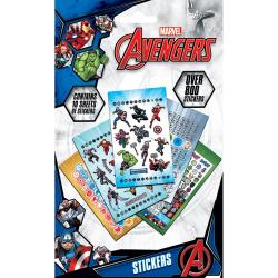 Avengers Power Stickers (800-pack) One Size Flerfärgade
