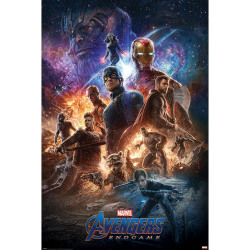 Avengers Slutspel från askaffischen 61cm x 91.5cm Flerfärgade