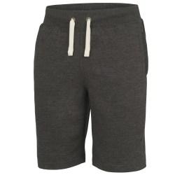 AWDis Hoods Plain Heavyweight Campus Shorts L Träkol