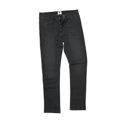 Awdis Så Denim Mens Leo Straight Fit Jeans 34R Svart