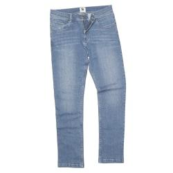 Awdis Så Denim Mens Leo Straight Fit Jeans 40R Ljusblå tvätt