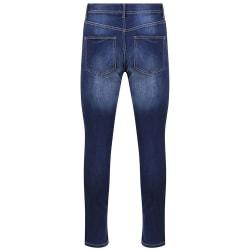 AWDis Så Denim Mens Luke Fashion Jeans 40L Indigo