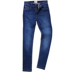 AWDis Så Denim Mens Max Slim Jeans 36L Mörkblå tvätt