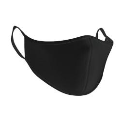 AXQ Unisex ansiktsmask för vuxna (5-pack) M Svart
