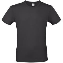 B&C Collection Herre T-shirt XL Svart ren