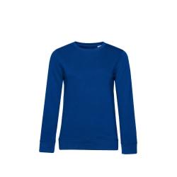 B&C Ekologisk tröja för kvinnor / damer L Kungsblått